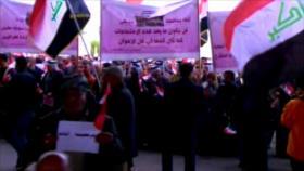 Marchas en Irak. Programa misilístico iraní. Huelga en Francia