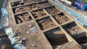 Descubren graneros de 4 mil años de antigüedad en China