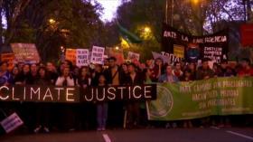 Marcha en Irak. Protestas en Francia. Cambio climático