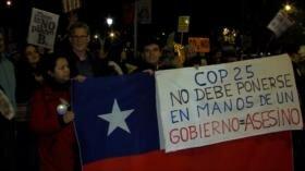 Miles de personas marchan en España contra el cambio climático
