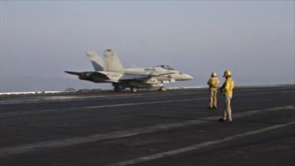 Cazas estadounidenses se niegan a bombardear a Daesh en Irak