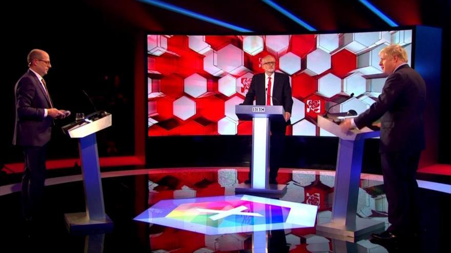 Johnson y Corbyn cara a cara a 5 días de los comicios generales | HISPANTV