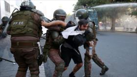 """CIDH condena """"uso excesivo de la fuerza"""" por la Policía en Chile"""