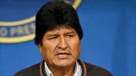 Morales: Las represiones en Bolivia serán alcanzadas por la justicia