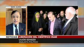 Szaszdi: Soleimani fue la carnada de EEUU para liberar a su espía