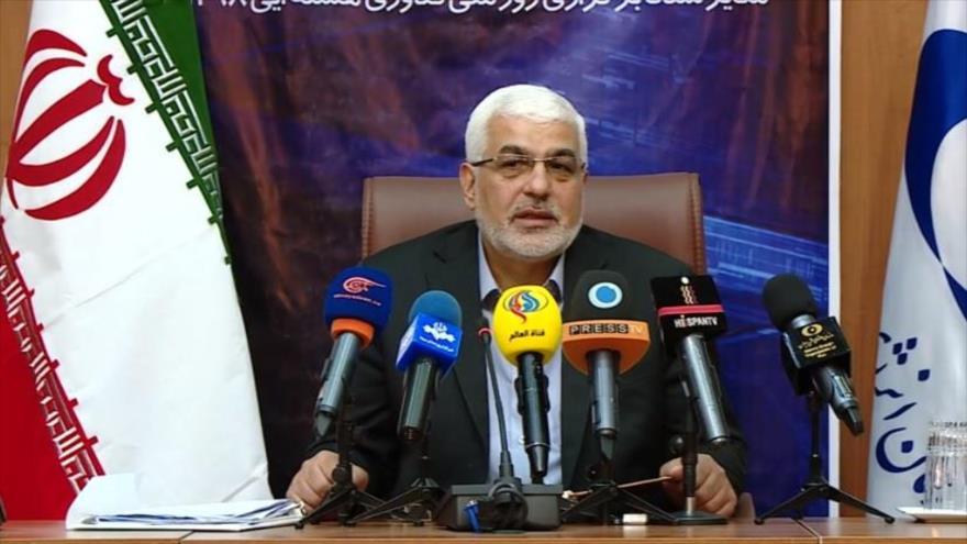 El vicepresidente de la Organización de la Energía Atómica de Irán (OEAI), Ali Asqar Zarean.