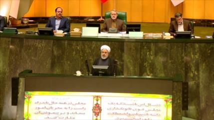 Irán revela presupuesto de Resistencia contra sanciones de EEUU