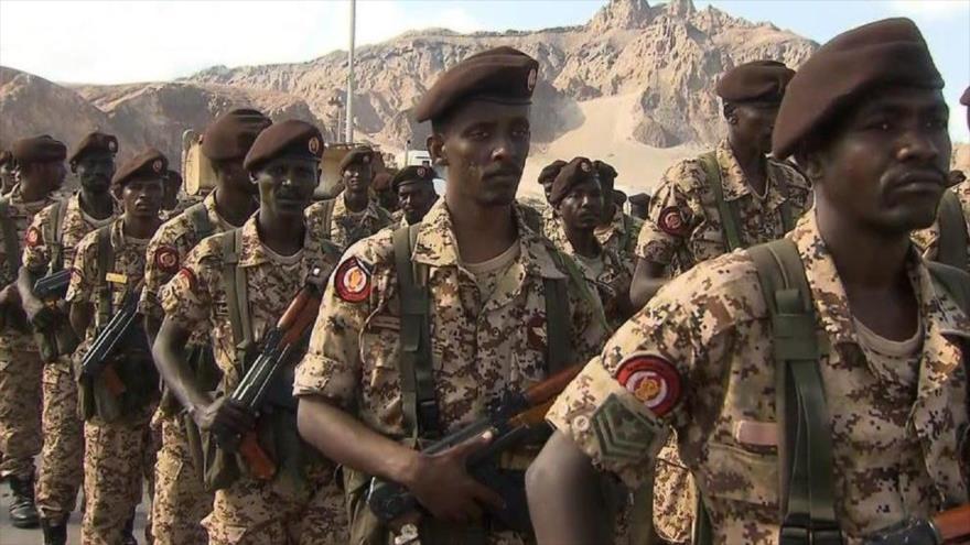 Soldados del Ejército de Sudán.