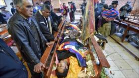 'Víctimas en Bolivia deben recibir compensación sin condiciones'
