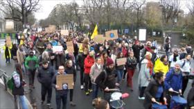 Los franceses se manifiestan en defensa del clima