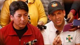 Audio revela pago por candidatura de líderes del golpe en Bolivia