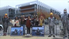 Indígenas brasileños denuncian contaminación ambiental y violencia
