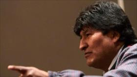 Morales acusa a Áñez de pedir intervención militar de Israel