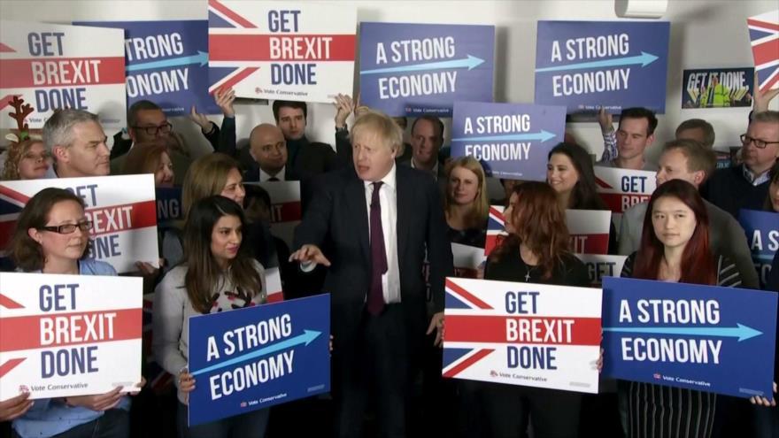 Intensa campaña electoral de partidos británicos a 4 días de comicios