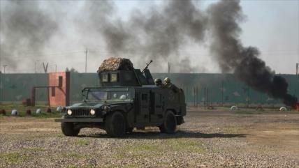 6 heridos en un ataque con cohetes a una base militar en Bagdad