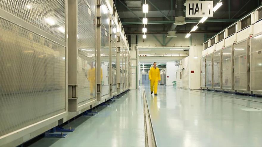 Una vista del interior del centro nuclear iraní de Fordo, 6 de noviembre de 2019.