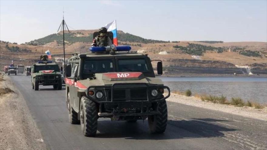 Militares rusos entran en ciudad Al-Raqa tras salida de EEUU