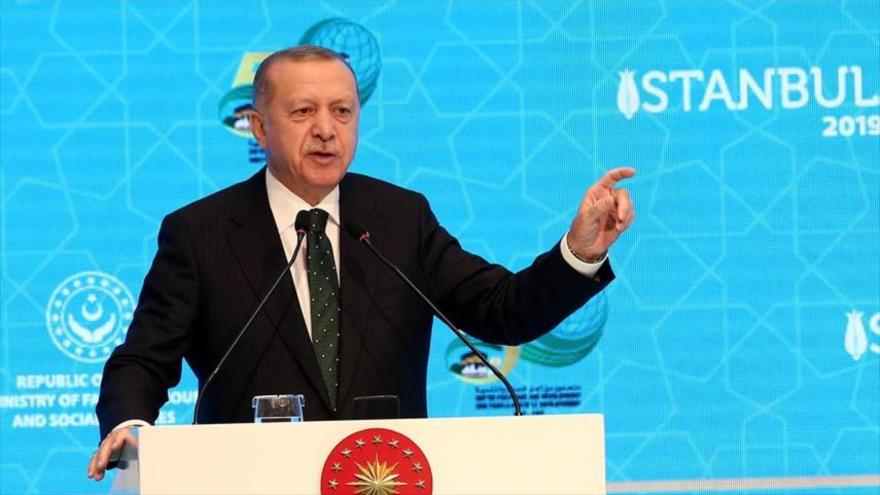 Erdogan repudia silencio de países árabes ante crímenes israelíes