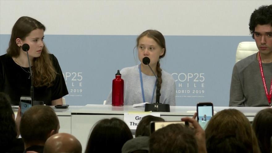 Greta: Crisis climática no es problema del futuro; nos afecta ya