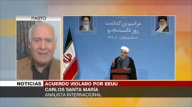 Santa María: Irán dio confianza al mundo con su respuesta a EEUU