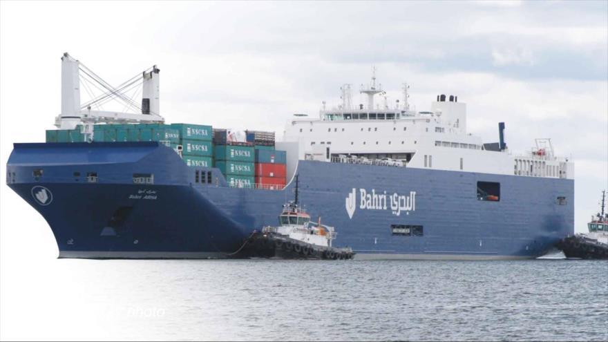 Españoles rechazan el atraque de un barco saudí cargado de armas | HISPANTV