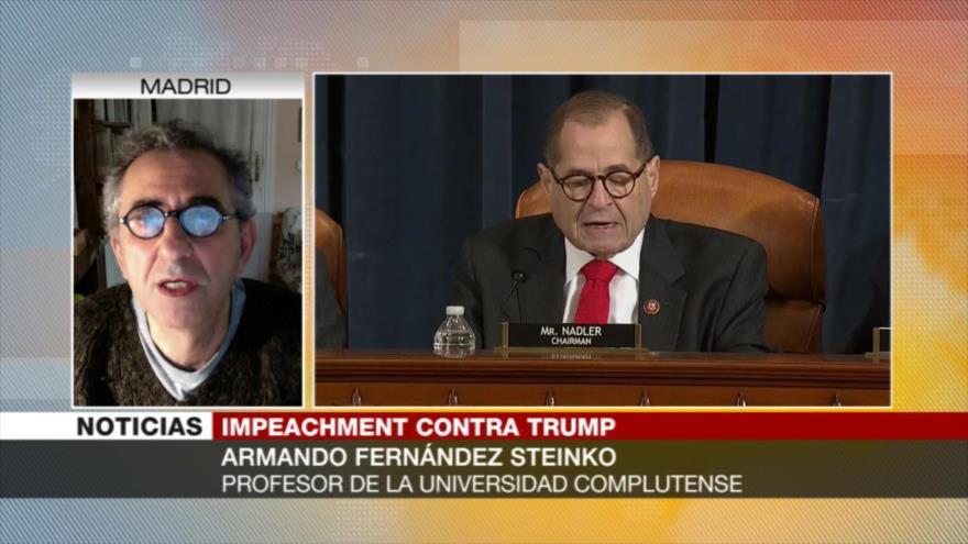 Steinko: Proceso de juicio político afecta a la imagen de Trump
