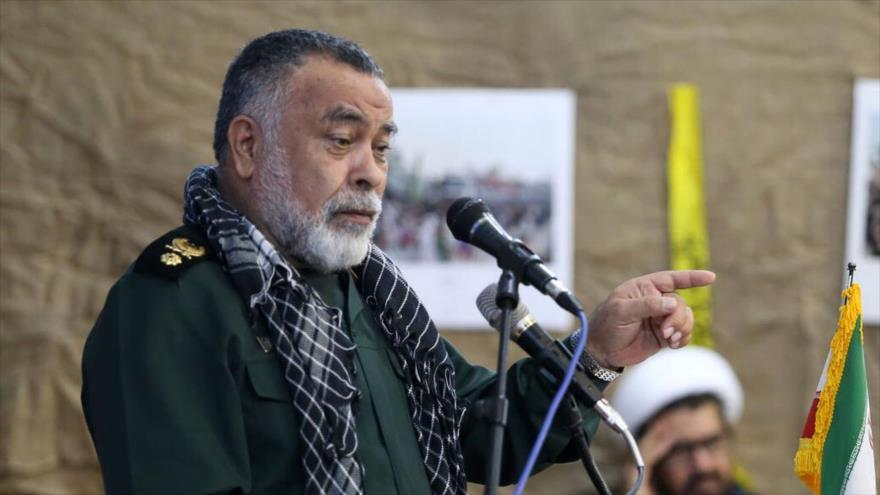 El asesor principal del comandante en jefe del Cuerpo de Guardianes de la Revolución Islámica (CGRI) de Irán, el general de brigada Morteza Qorbani.
