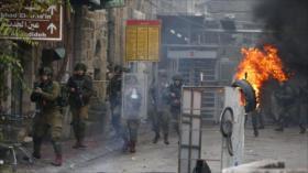 Vídeo: Fuerzas israelíes reprimen manifestación contra colonias