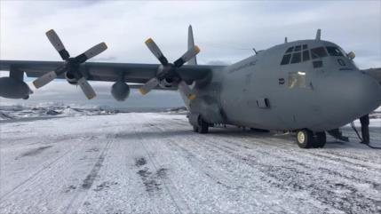 Desaparece avión militar chileno con 38 personas a bordo