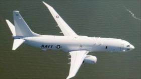 Detectan avión espía de EEUU cerca de base militar rusa en Siria
