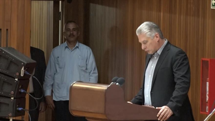 Presidente de Cuba: No nos dejaremos amedrentar
