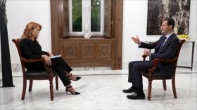 Bashar al-Asad culpa a Occidente de la crisis que vive Siria