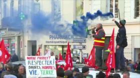 Huelga en Francia. Impeachment a Trump. Díaz-Canel en Argentina