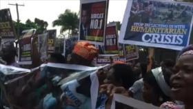 Nigerianos dan ultimátum a Francia por su apoyo al terrorismo