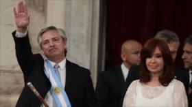 Alberto Fernández jura como presidente de Argentina