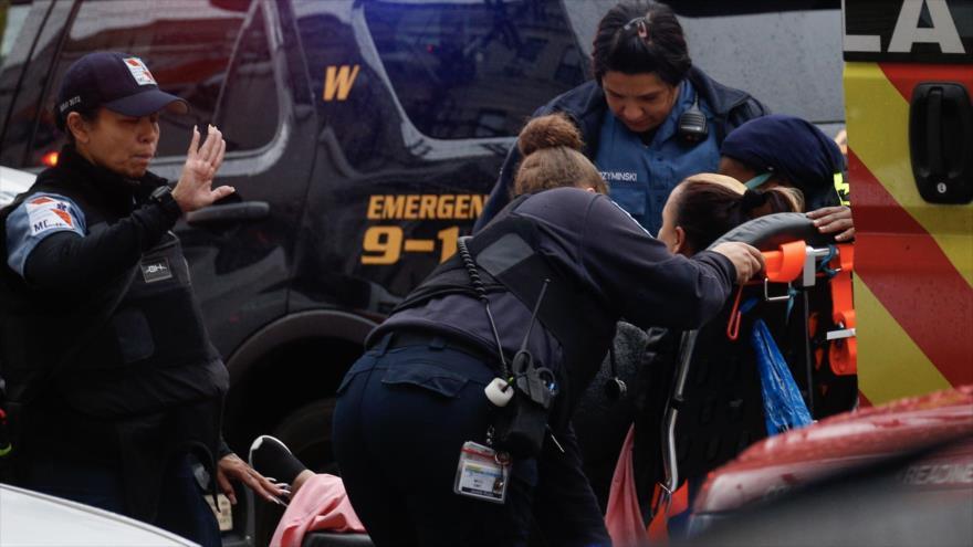 Fuerte tiroteo deja seis muertos en Nueva Jersey, EEUU