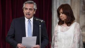 """Fernández promete """"reducir la pobreza"""" en Argentina"""