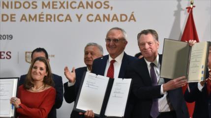 EEUU, México y Canadá firman el tratado de libre comercio T-MEC