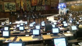 Asamblea Nacional de Ecuador aprueba la ley económica urgente