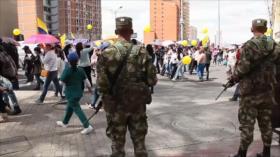 Con protestas conmemoran en Colombia Día Internacional de DDHH