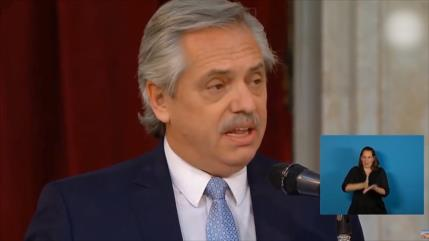 Multitudinario acto para recibir al nuevo presidente argentino