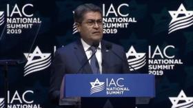JOH invita a una alianza a régimen de Israel, EEUU y Honduras