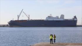 Barco saudí deja puerto español en medio de protestas y sospechas
