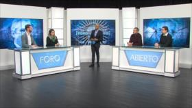 Foro Abierto; Argentina: Alberto Fernández asume la Presidencia