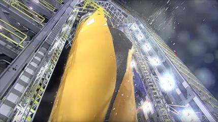 Vídeo: NASA explota deliberadamente cohete más grande del mundo