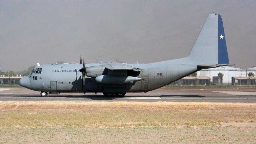 Fuerza Aérea de Chile halla restos que serían del avión siniestrado