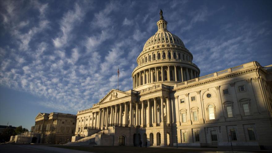 Vista general del edificio del Congreso de Estados Unidos en Washington D.C.