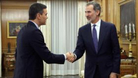 Sánchez acepta encargo del rey de España para formar gobierno