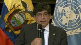 Gobierno de Ecuador niega violaciones de DDHH en las protestas