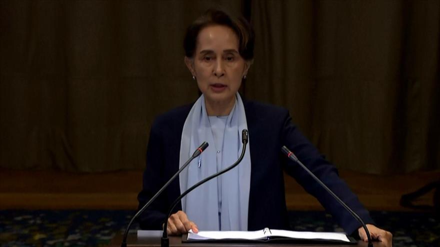 Rohingya acusan a Aung San de mentir ante la CIJ sobre su represión